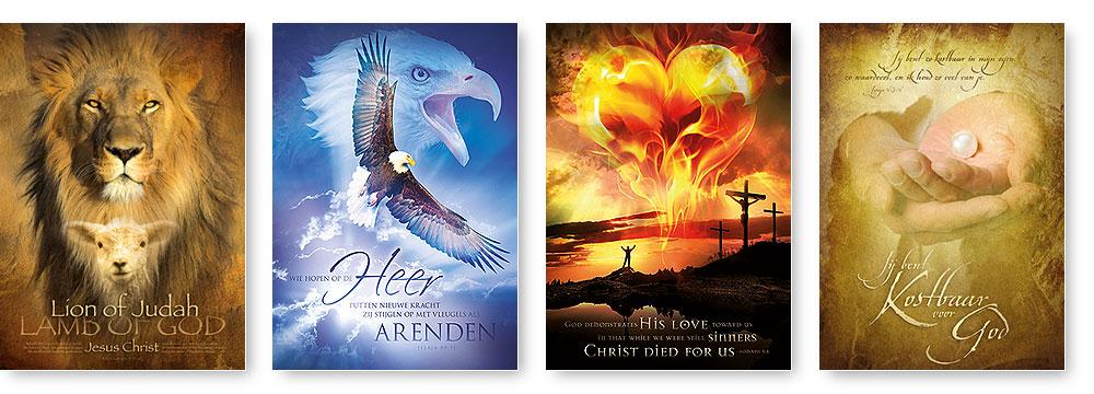 christelijke posters boekwinkel