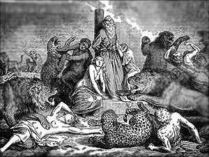 christenvervolging leeuwen rome