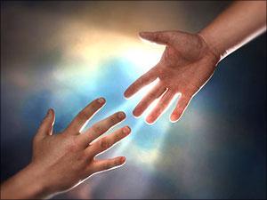 handen van god