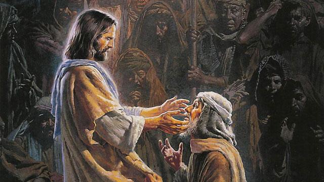 jezus christus geneest