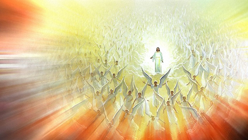 jezus christus hemel