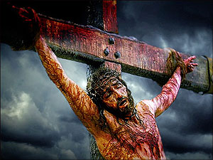 jezus christus aan het kruis