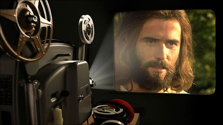 jezus film video projector