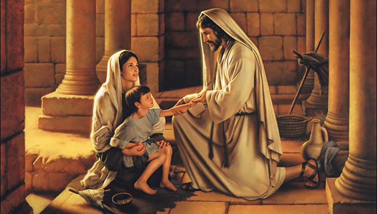 jezus religie genezing