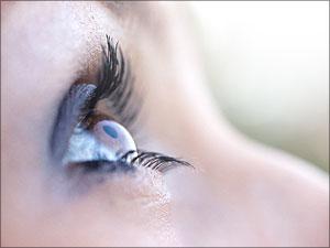 oog kijkt naar god