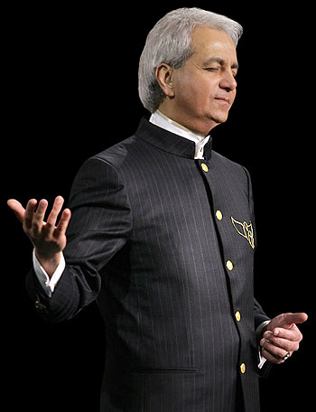 benny hinn in gebed