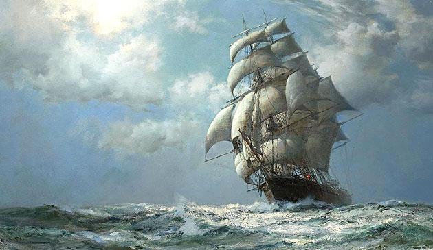 oceaan schip