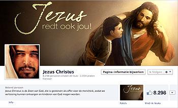 jezus facebook