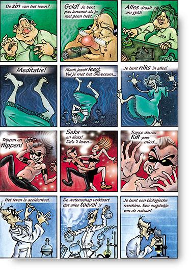 stripverhaal zelfmoord leven
