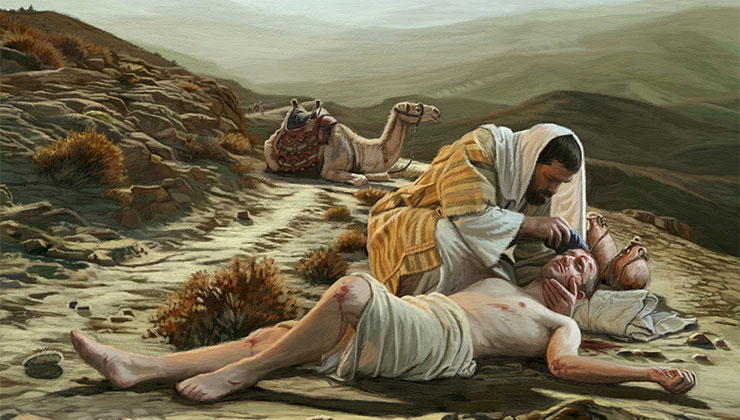 barmhartige samaritaan