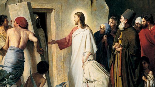 jezus christus lazarus