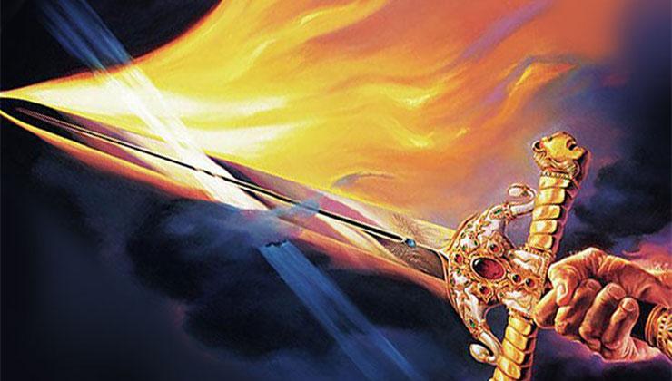 gods stem zwaard geest