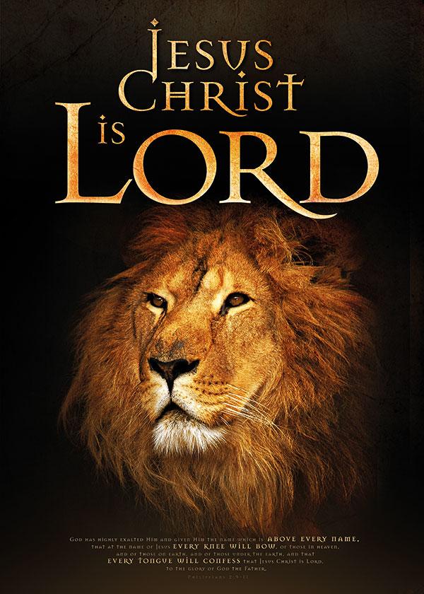 poster jesus lord