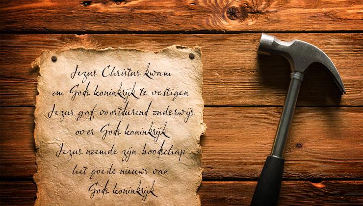 stellingen voor reformatie