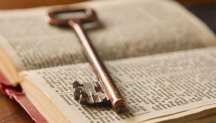 sleutels bijbel