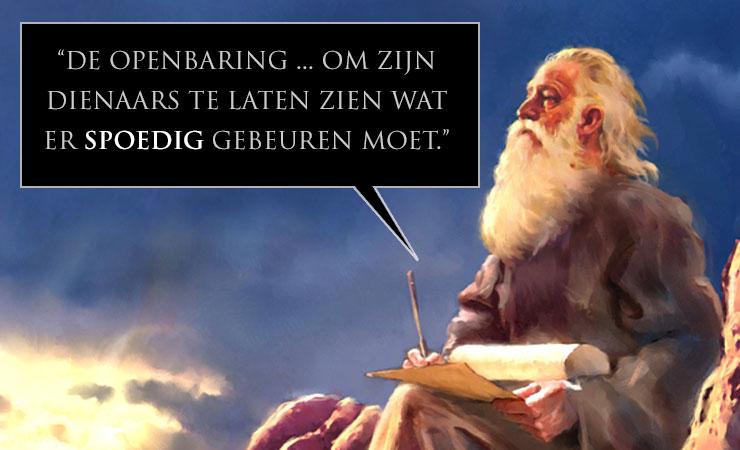 citaat Johannes openbaring