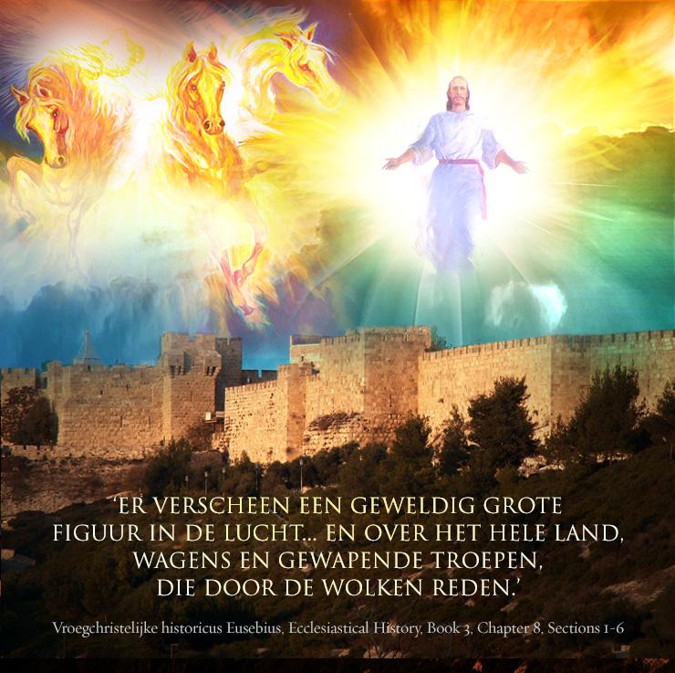 eusebius jezus engelen wolken-citaat