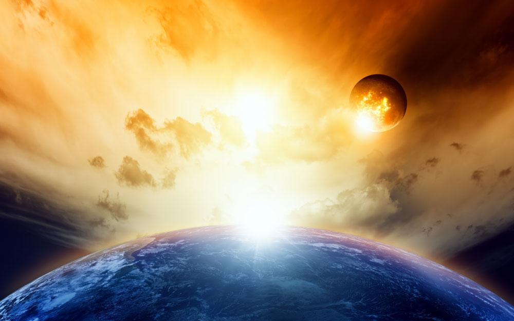Komt er een nieuwe hemel en een nieuwe aarde ontdek god - Foto van de eetkamer ...