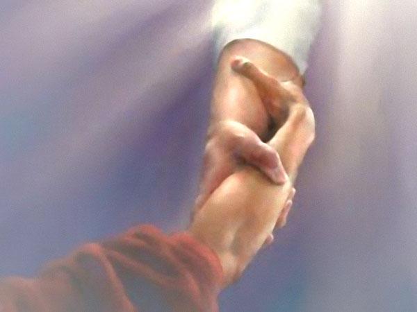 hand jezus