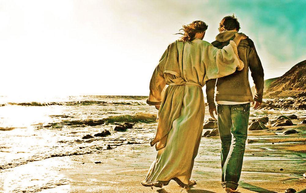 wandelen met jezus