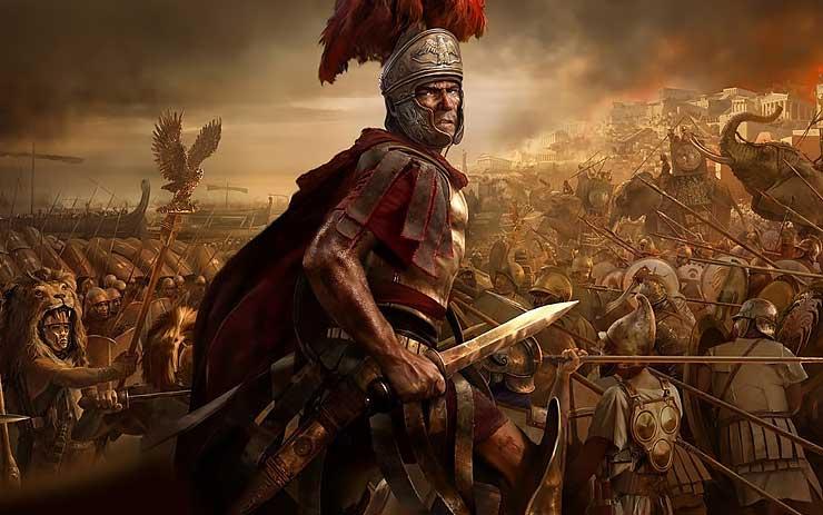 romeinse rijk grote verdrukking