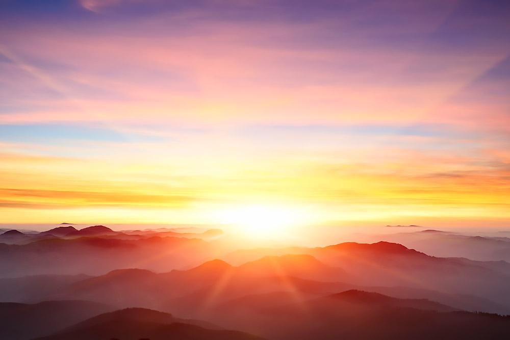 hoop licht wereld