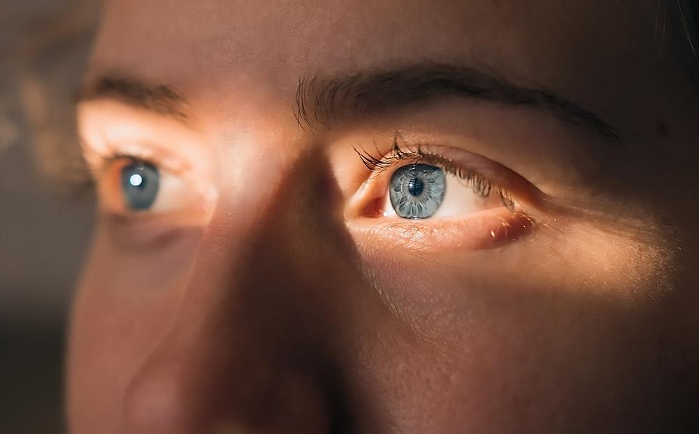 ogen kijken naar jezus