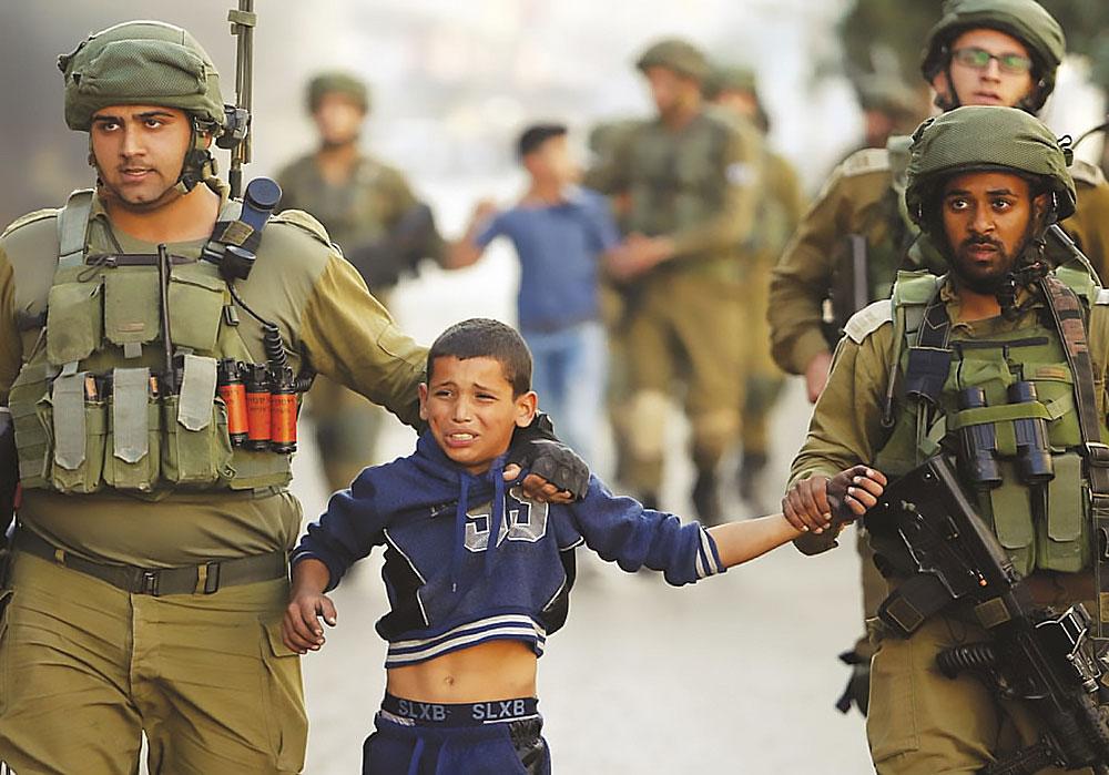 israel arresteert kinderen