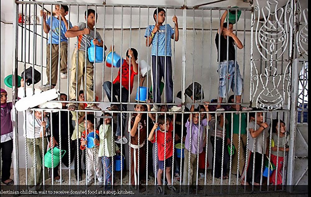 kinderen gevangenis Israel